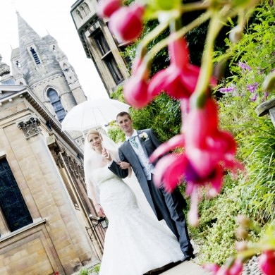 Ulrike and Warren's beautiful Cambridge College Wedding