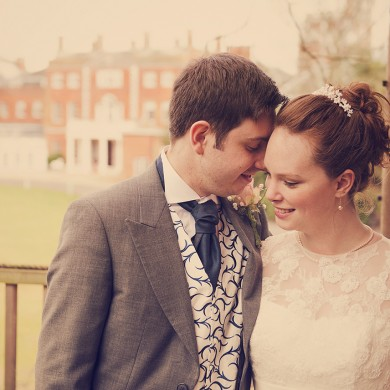 Wonderful Winter Wedding at Theobalds Park
