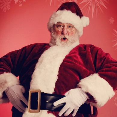 Our Santa is the real Santa!